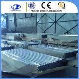 鉄シートの熱いすくいの電流を通された波形の屋根ふきシート