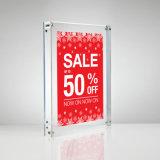 Il fornitore ha personalizzato il blocco per grafici magnetico acrilico poco costoso fatto della foto
