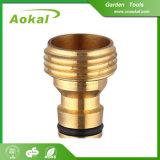 Connecteurs en laiton en laiton de boyau de tube de cuivre de pipe de connecteur de taraud