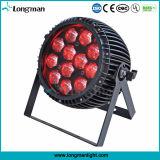 Resistente al agua 12x15W Zoom RGBW Luz PAR LED Iluminación DMX