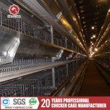 La jaula de la capa de huevo de gallina a Uganda/Emiratos Árabes Unidos (una granja avícola-4L120)
