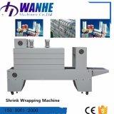 Máquina de envolvimento automática do Shrink da luva com película plástica