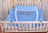 아기 제품 아기 음악 중국 사람 공급자와 가진 여행 접히는 모기 침대 그물