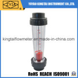 Mètre d'écoulement plastique de rotamètre de l'eau de canalisation
