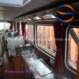 barco de pasajero del 14.28m China 40p con la carrocería del barco de la fibra de vidrio