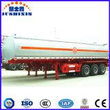 Nouveau matériel en acier au carbone Q235 de l'huile combustible pétrolier 3 Fuwa essieux Remorque grande capacité de 50000 litres