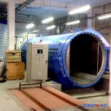 안전을 방탄에게 하기를 위한 2000X3000mm 전기 난방 유리제 오토클레이브