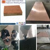 L'acier résistant à l'usure des pièces de cuivre plaqués bimétalliques