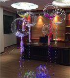 2017新しいデザインヘリウムのボボの気球LEDのクリスマスストリング