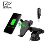 Chargeur sans fil de garniture de pouvoir de Qi de véhicule de téléphone mobile