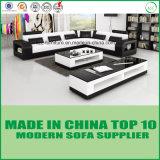 Base di sofà di Lether di stile del divano di svago