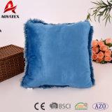 Ammortizzatore decorativo di lusso 100% del sofà del panno morbido normale di PV del poliestere