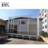 Rk 사건 쇼를 위한 최신 실내 & 옥외 알루미늄 단계 또는 휴대용 단계