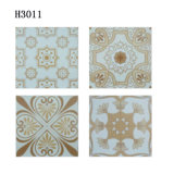 disegno di ceramica delle mattonelle di pavimentazione del reticolo di fiore di 300X300mm