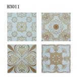 300X300mm Blumen-Muster-keramischer Bodenbelag-Fliese-Entwurf