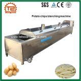 Pommes chips de machines de transformation des produits alimentaires faisant cuire et blanchissant la machine
