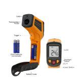 Tonalizador infravermelho do pirômetro do termômetro da temperatura de superfície da seleção do IR Digital C/F do indicador Non-Contact do laser LCD