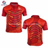 固有のためのカスタムスポーツ・ウェアの昇華人のワイシャツのスポーツのポロシャツ