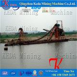Draga de la arena del río del compartimiento de cadena del equipo de la minería aurífera
