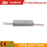 24V 3A LED 75W Transformador ac/dc de alimentación de conmutación de HTS