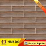 azulejo de suelo de cerámica de madera de 150X600m m (6M6506)