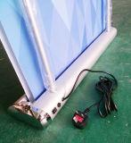 Электрические двойной стороны прокрутки баннер стойки стабилизатора поперечной устойчивости на дисплей для установки в стойку