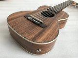 Aiersi Dedign neuf a feuilleté l'Ukulele Gu-078e de guitare de course de Koa
