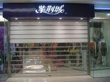 Rolamento eletrônico das portas horizontais do obturador do rolo acima da porta para lojas de alimento do aeroporto