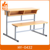 Benchs를 가진 Elemerntary 학교 두 배 책상과 의자 /Classroom 책상