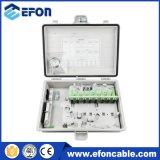 24/48/72/96 para núcleos de parede de Fibra Ótica montado na caixa de distribuição