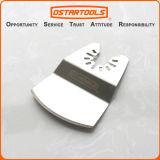 Le segment convexe de oscillation de couteau de grattoir de solides solubles scie la lame