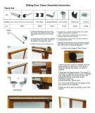 Badezimmer-Balkon-Hinterhof-Stall-Türschließer für einfaches installieren