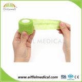Fasciature coesive del cotone non tessuto con l'alta qualità