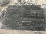 Granit flambé de G302 Nero Santiago pavant pour Outisde/passage couvert