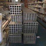 Alliage rectangulaire en aluminium 6061-T6, 6063-T5 de tube