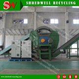 Macchina di riciclaggio di plastica residua automatica avanzata per il tagliuzzamento il timpano/bottiglia/benna dello scarto