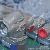 Verriegelte Mütze HF flanschte geschmiedetes StahlRückschlagventil des Schwingen-A105