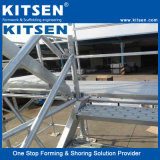 L'acier pour la construction du système d'Échafaudage Ringlock soutenir
