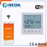Termóstato elegante del sitio de WiFi de la pantalla táctil para la calefacción de suelo