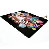 Costume de borracha personalizado novo da almofada de rato da forma longa redonda quadrada do retângulo