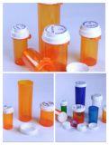 8dr aos tubos de ensaio plásticos da prescrição da farmácia de 60dr Rx