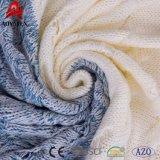 Câble de mixage tricot multicolore de promotion de jeter de l'acrylique couverture