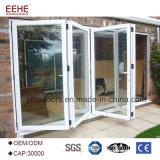 Дверь сползая стекла водоустойчивой алюминиевой рамки Bifold