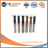 HRC60 1,0X3x50 Padrão de carboneto de extremidade quadrada Mills