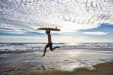 Покрашенная ткань стеклоткани для ткани Surfboard/стеклоткани Skimboard Texturised 200GSM