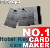 Carte principale d'hôtel de l'IDENTIFICATION RF FM1108/MIFARE 1K de prix bas pour Saflock Kaba verrouillant le système