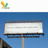 P10 High Pixel Display LED de energia solar Painéis Publicitários
