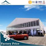 45X50m Raum-Überspannungs-Selbsterscheinen-Car Show-Produkteinführungs-Zelt