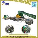 Película de hoja de los PP del PE del precio de fábrica que se lava reciclando la máquina del estirador