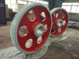 L'acciaio legato del grande diametro ha forgiato la rotella di attrezzo dell'anello con il trattamento termico